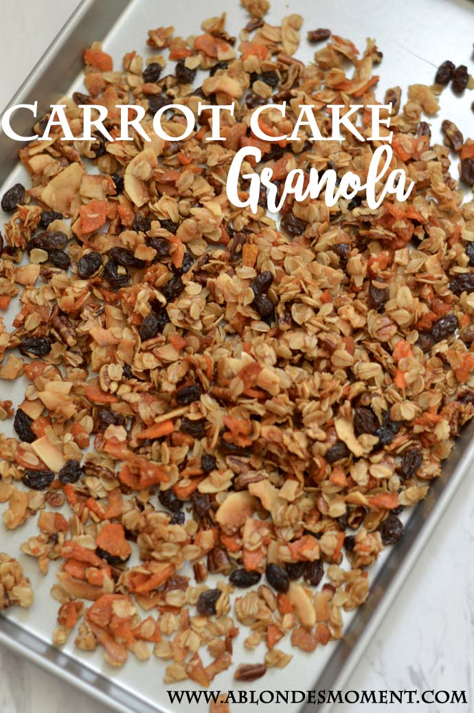 Carrot Cake Granola Recipe