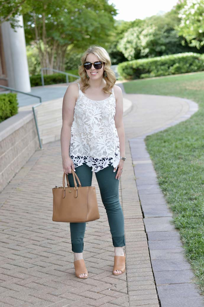 Cute Summer to Fall Outfit Idea
