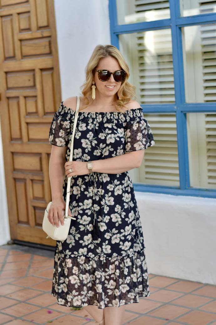 Summer Off the Shoulder Dress