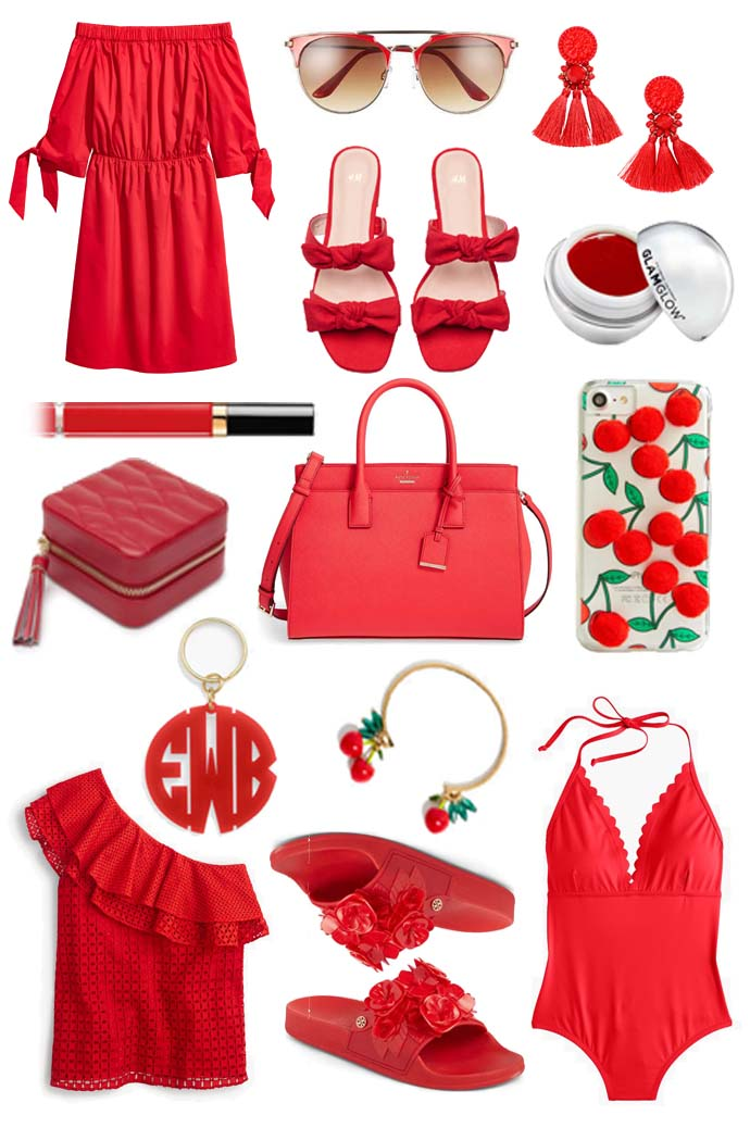 Summer Red Outfit Inspiration @rachmccarthy7