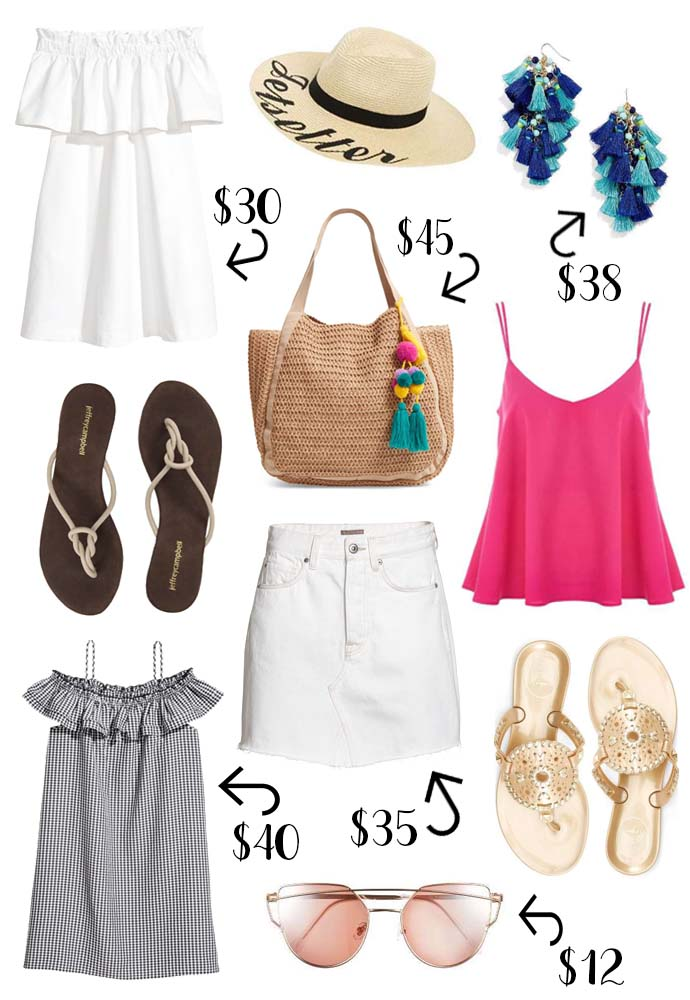 Top summer must-haves under $50 @rachmccarthy7