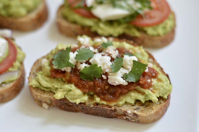 Tex Mex Avocado Toast Recipe @rachmccarthy7