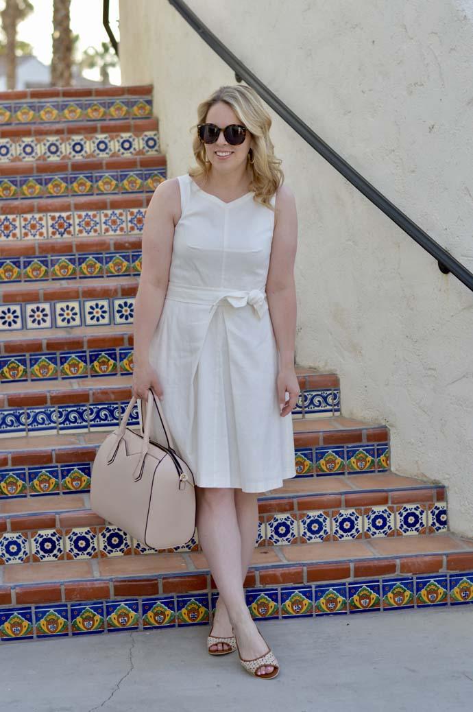 White Ann Taylor Dress