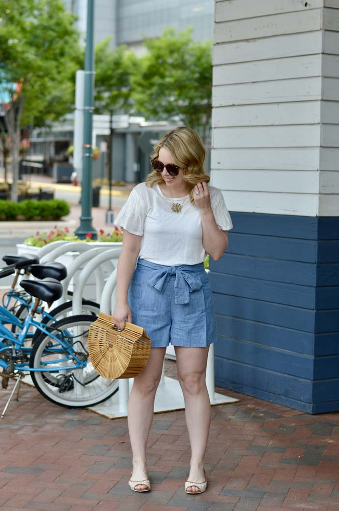casual summer outfit ideas with shorts