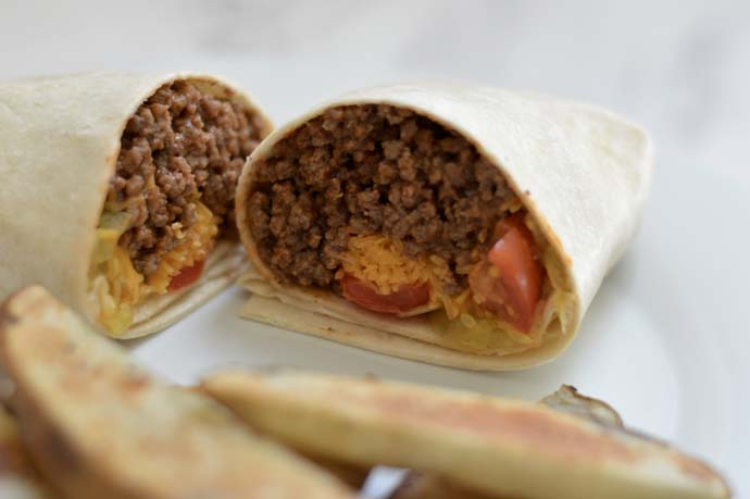 easy weeknight meal with tortillas