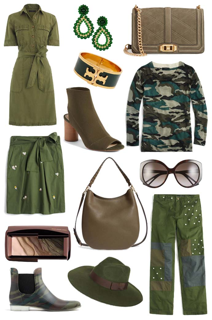 fall green outfit inspiration