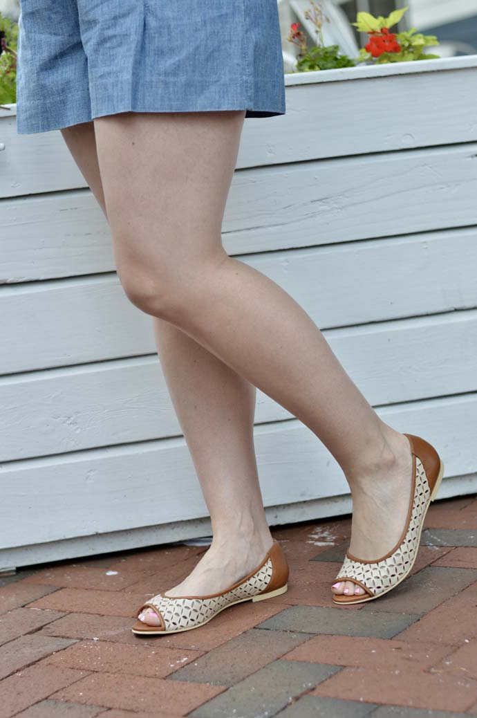french sole comfortable beige flats