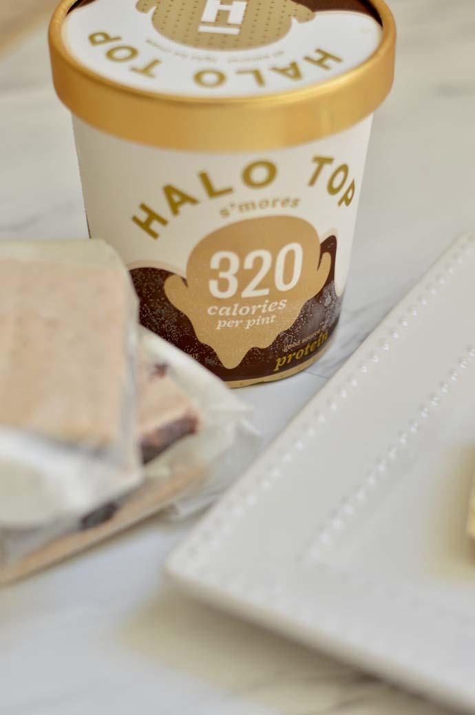 halo top s'more ice cream