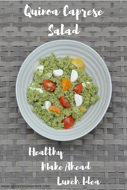 quinoa caprese salad recipe @rachmccarthy7