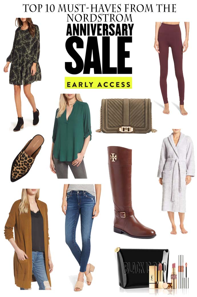 top 10 must-haves from nordstrom anniversary sale