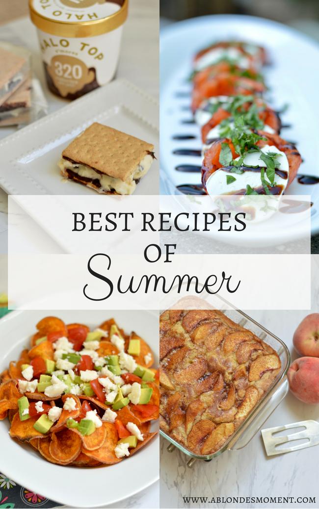 best recipes of summer