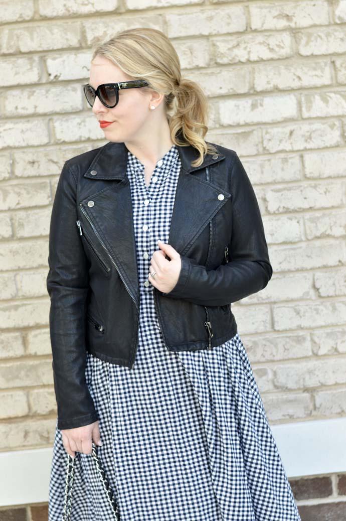 black leather jacket blanknyc