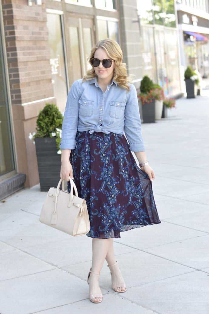 cabi burgundy dress outfit