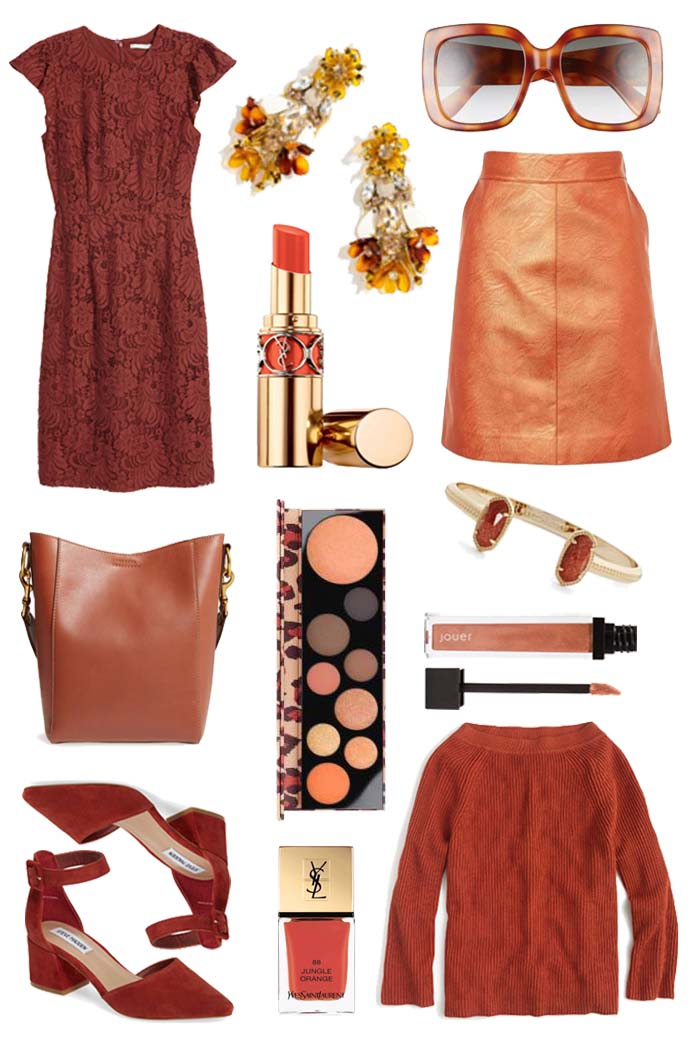 fall color crush rust