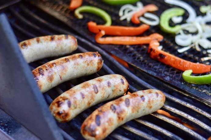 grilled chicken sausage recipe