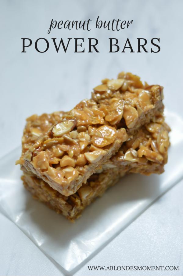 peanut butter power bars
