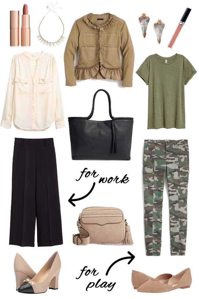 how to style a khaki jacket for fall