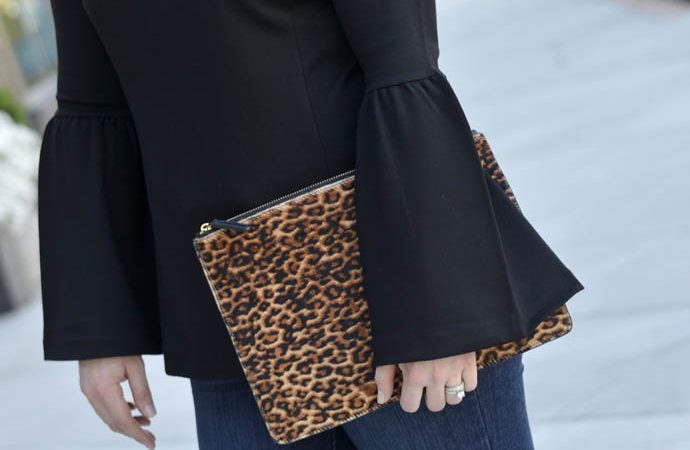 Bell Sleeves and Leopard Accessories