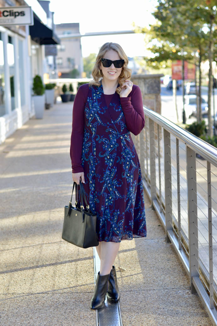 cabi fall dress