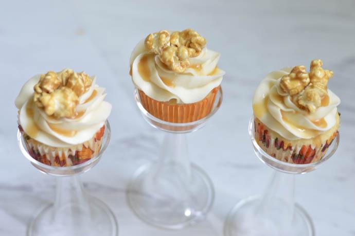 caramel corn cupcakes recipe