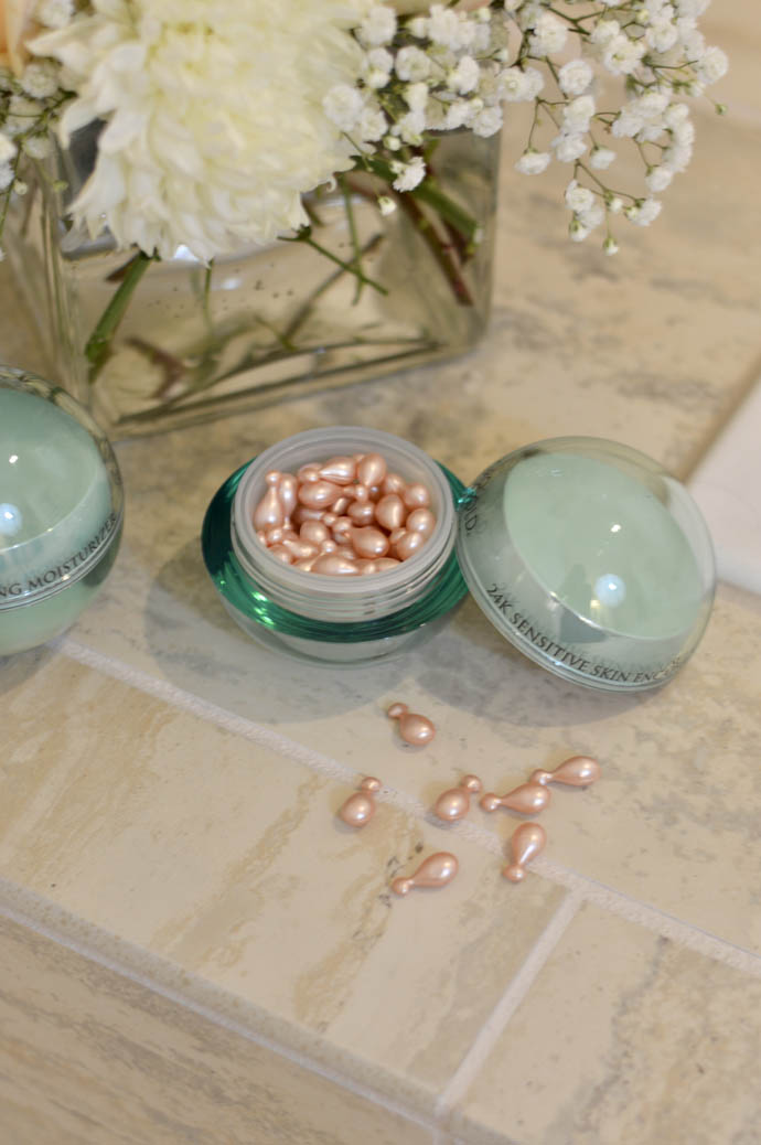 encapsulted serum orogold cosmetics
