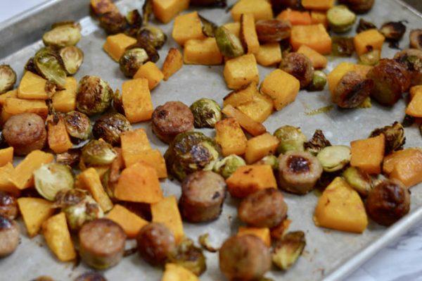 fall sheet pan dinner