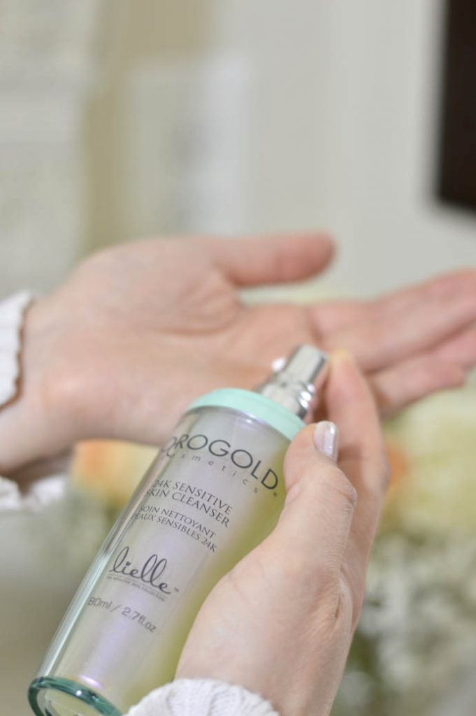 orogold cosmetics sensitive skin cleanser