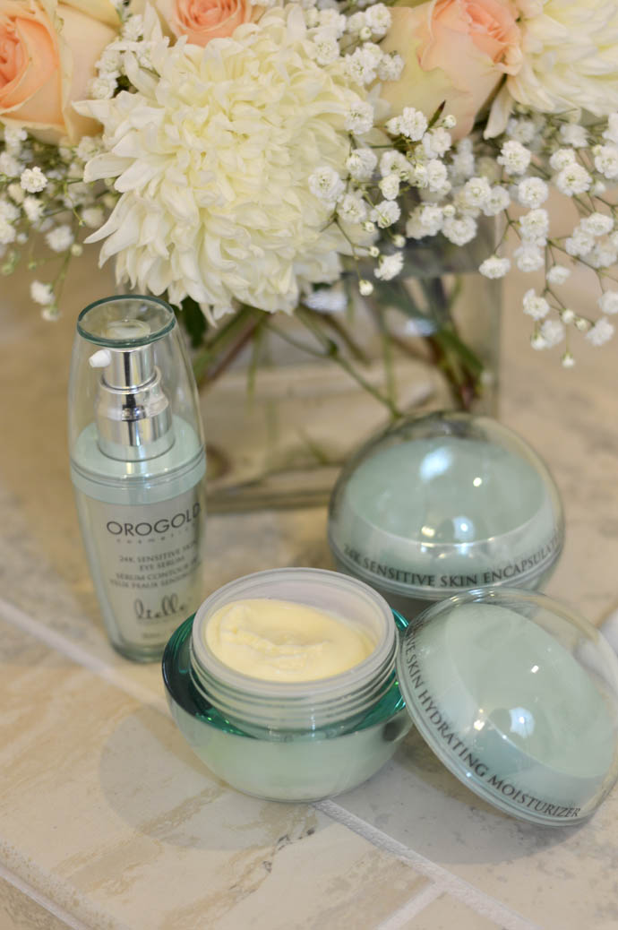 orogold cosmetics sensitive skin collection