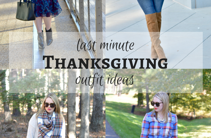 Last Minute Thanksgiving Outfits & Holiday Essentials