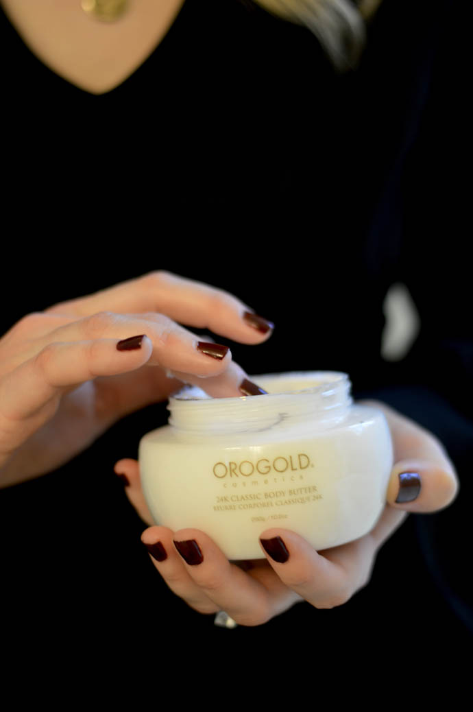 orogold body butter 24k collection