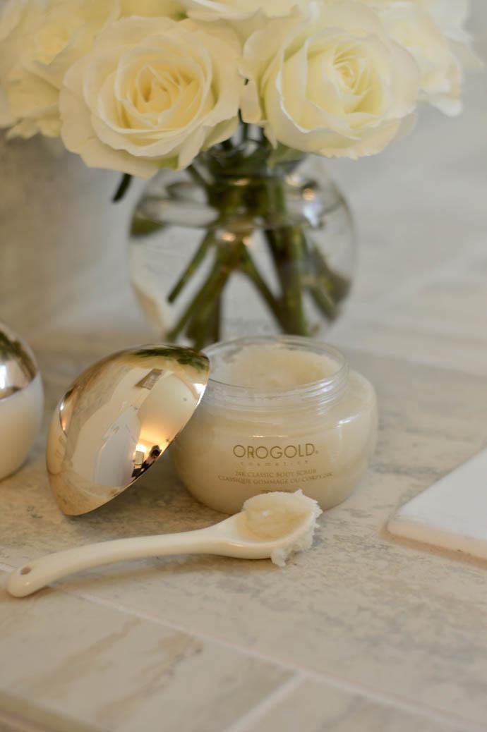 orogold cosmetics 24k body scrub
