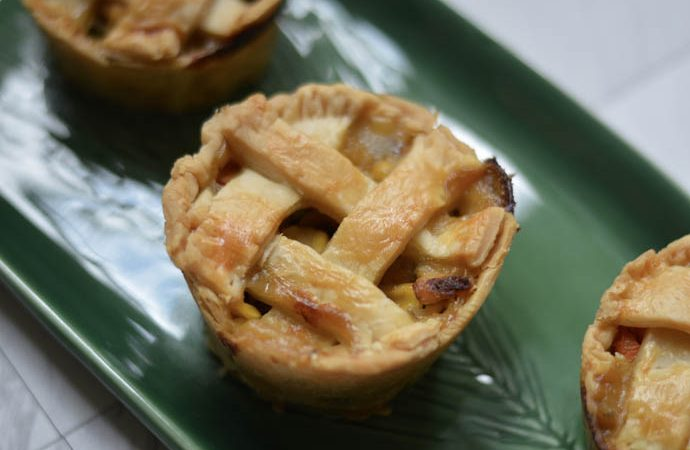 Thanksgiving Leftovers | Turkey Pot Pies