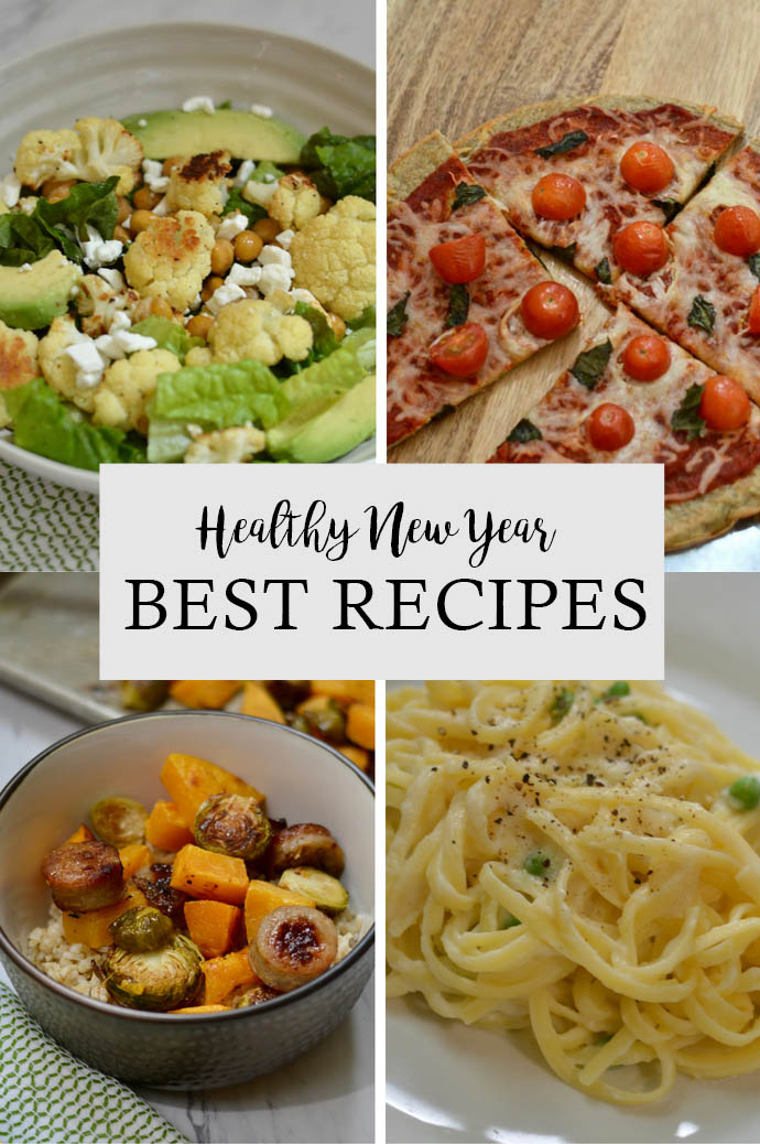 healthy new year: best recipes