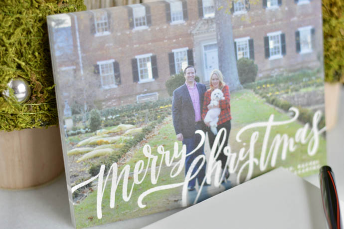 make your own christmas cards at minted