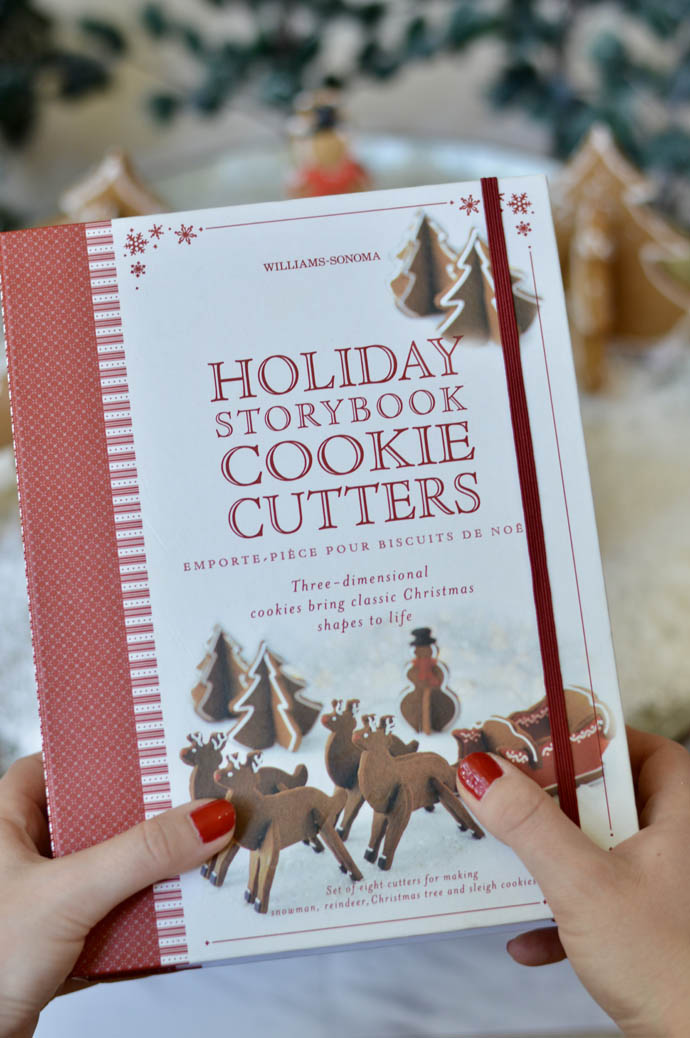 williams-sonoma holiday storybook cookie cutters
