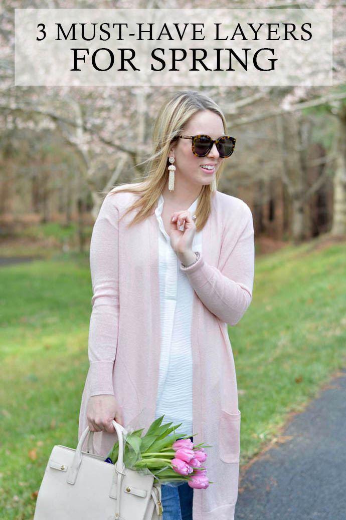 3 must have layers for spring