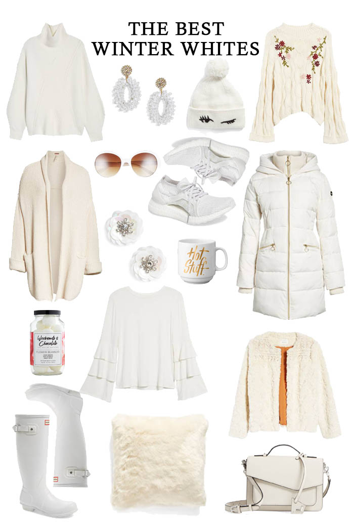 best white fashion for winter