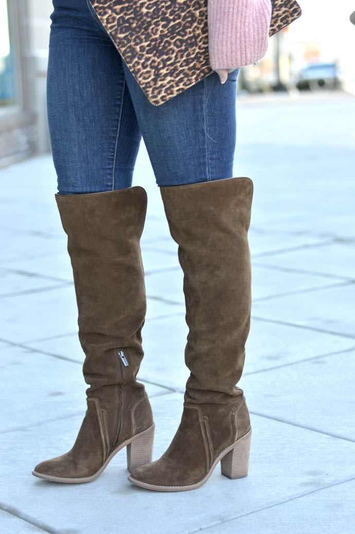 brown otk suede boots