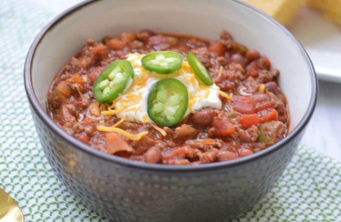 Best Winter Dinner: Homemade Chili