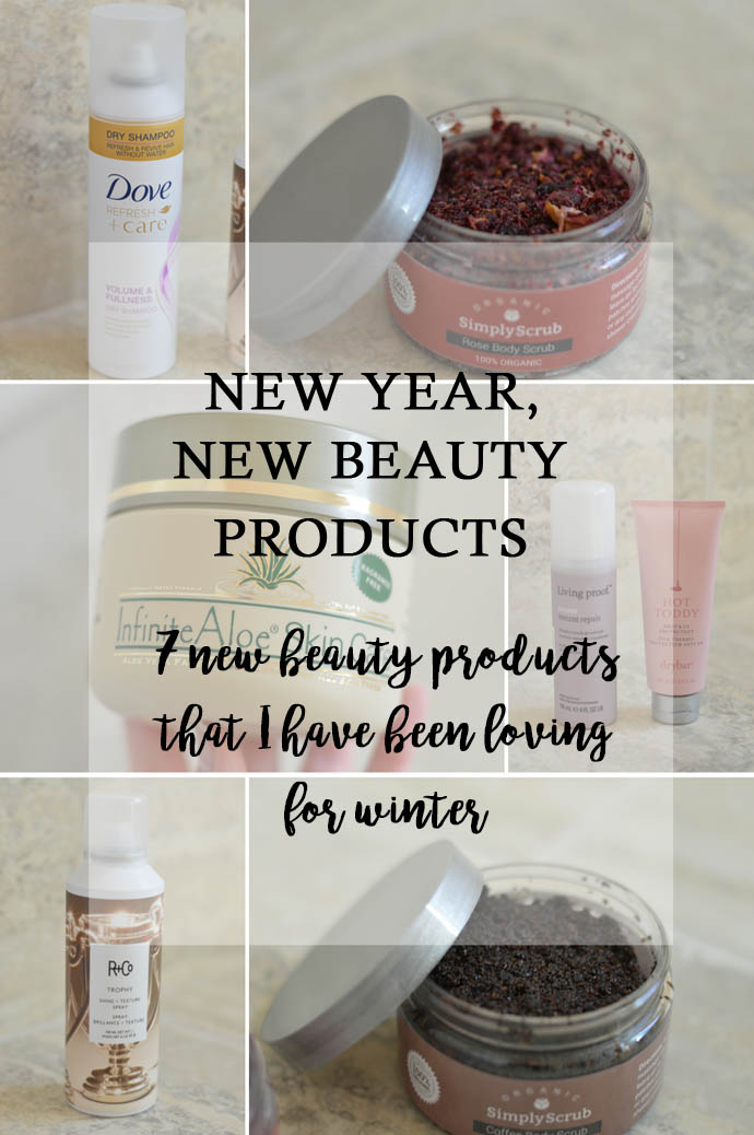 new year, new beauty products
