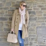 spring trench coat outfit idea