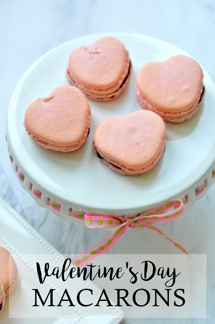 heart macarons recipe