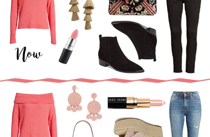 How to Wear Spring Pieces Now…And Later