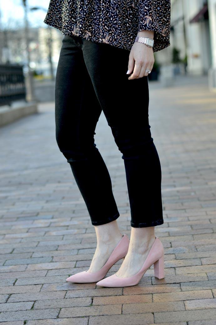 ivanka trump blush pink heels
