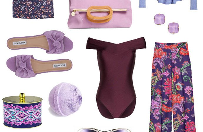 Shades of Spring: Purple