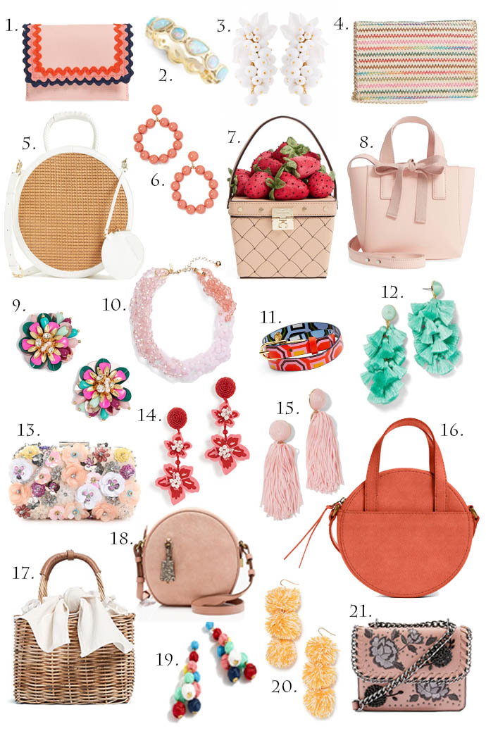 Spring Accessories: Handbag and Jewelry Edition